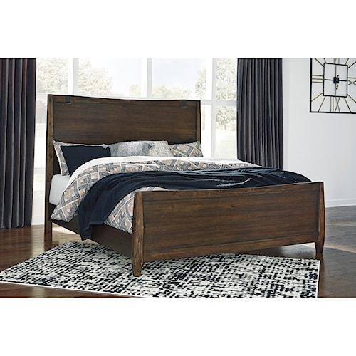 Signature Design by Ashley Kisper Contemporary California King Panel Bed