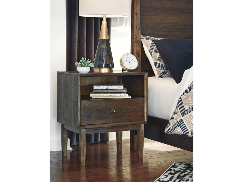 Signature Design by Ashley KisperOne Drawer Nightstand