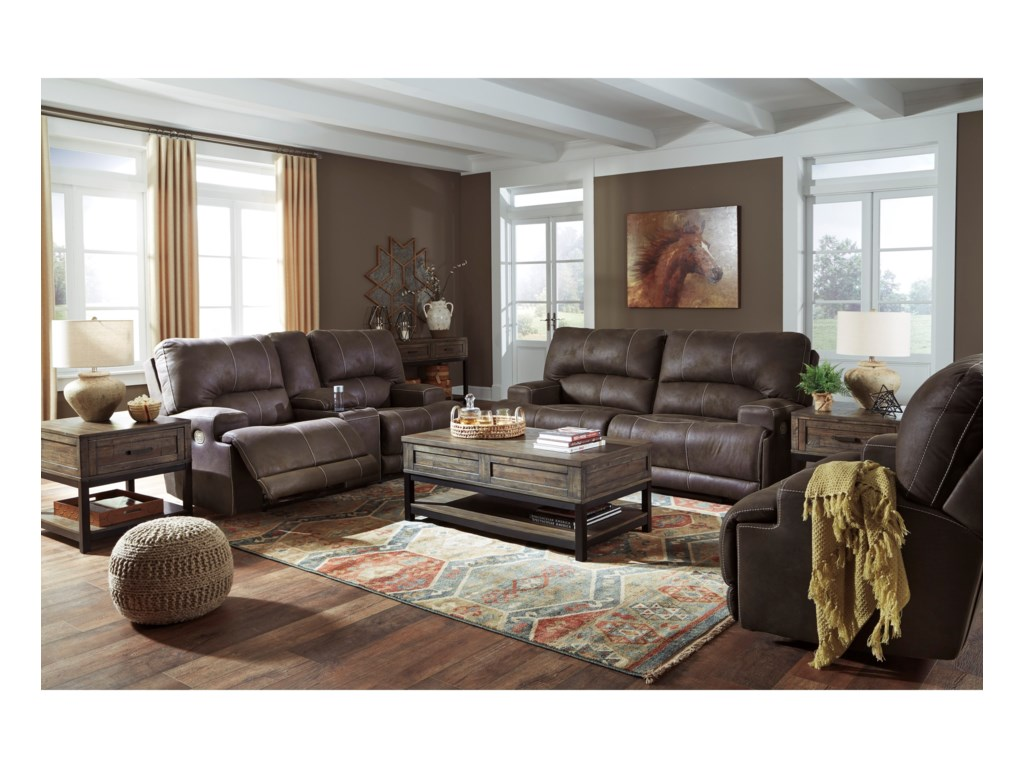 Signature Design by Ashley KitchingPower Reclining Living Room Group