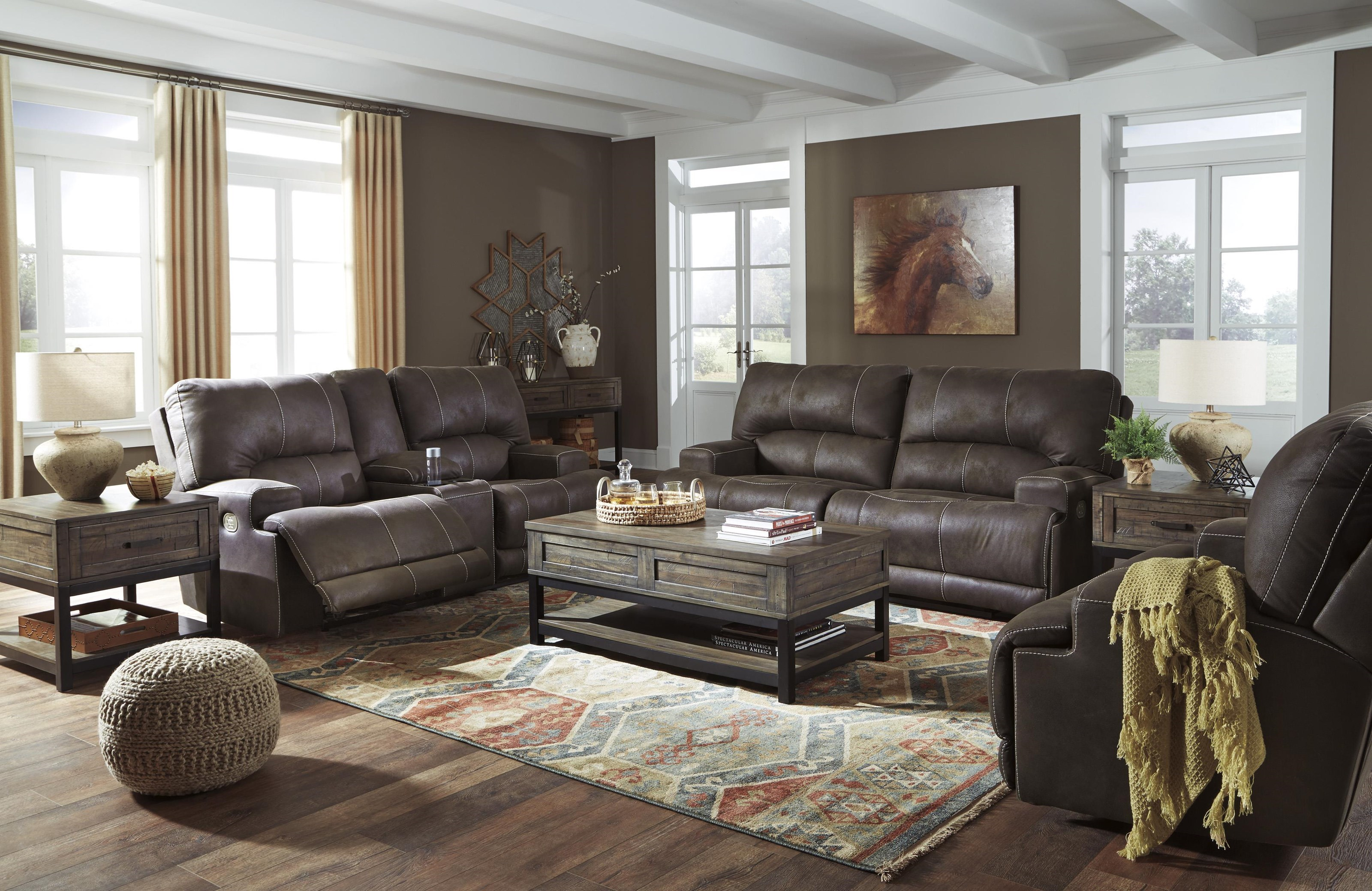 Kitching Power Headrest Sofa And Recliner Set