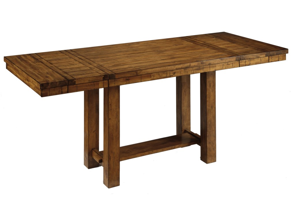 Table Shown with Leaves