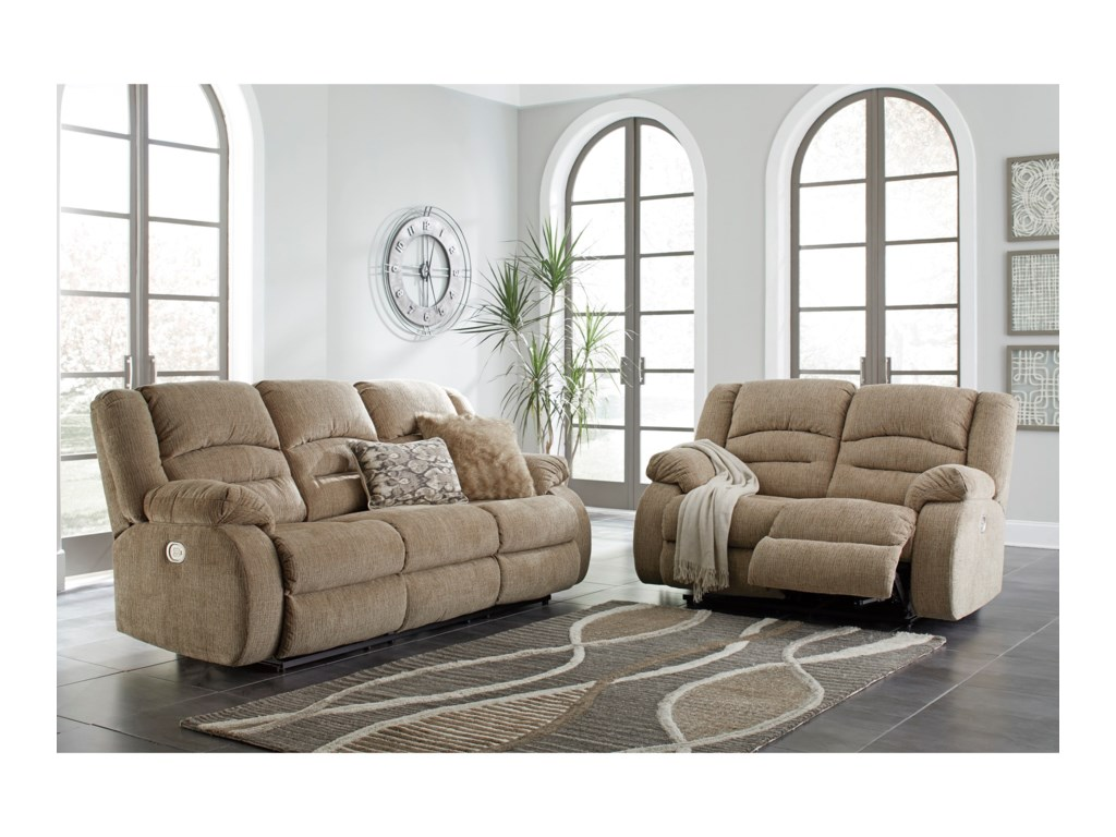 Signature Design by Ashley LabarreReclining Living Room Group