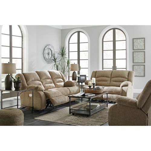Signature Design by Ashley Labarre Reclining Living Room Group