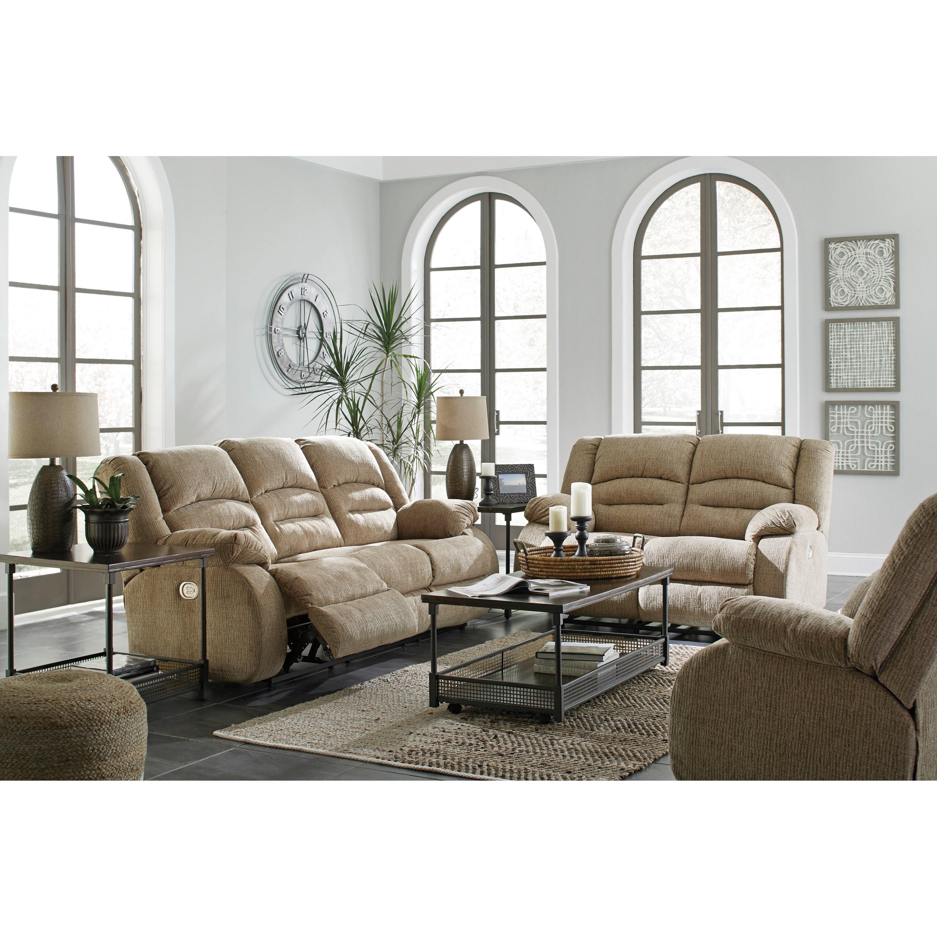 Ashley (Signature Design) Labarre Reclining Living Room Group