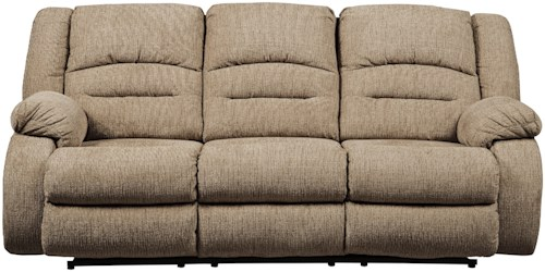 Signature Design by Ashley Labarre Power Reclining Sofa with Adjustable Headrest