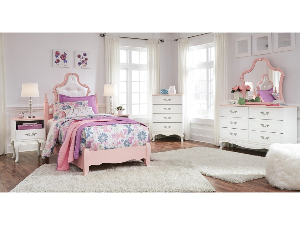 trundle products furniture with by signature beds b bed s design drawer captain twin ashley box leo