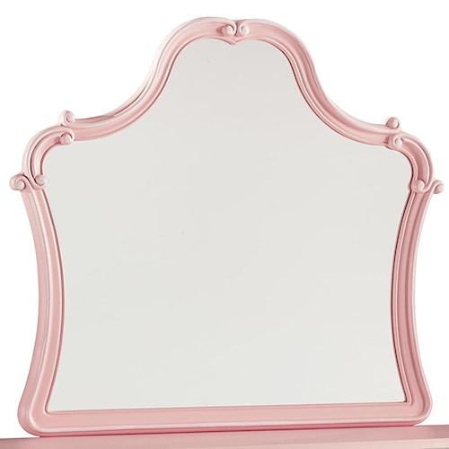 Signature Design by Ashley Laddi Blush Pink Bedroom Mirror