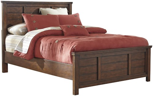 Signature Design by Ashley Ladiville Rustic Full Panel Bed