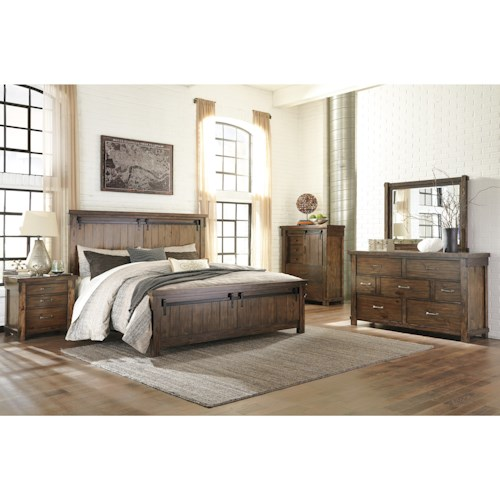 Signature Design by Ashley Lakeleigh Queen Bedroom Group