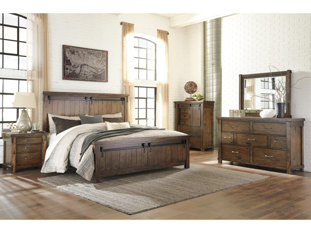 Signature Design by Ashley Lakeleigh B718 K Bedroom Group 4-Piece ...