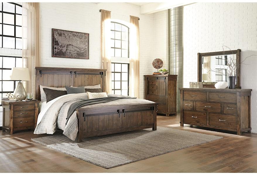 Vendor 3 Lakeleigh B718 K Bedroom Group 4 Piece King Bedroom Set Becker Furniture Bedroom Groups