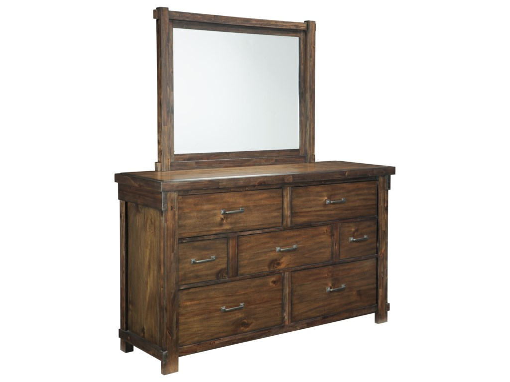 Signature Design by Ashley LakeleighDresser & Bedroom Mirror