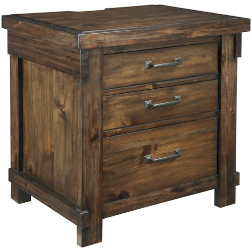 Signature Design by Ashley Lakeleigh Three Drawer Night Stand