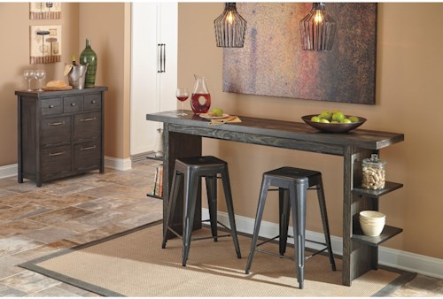 Signature Design by Ashley Lamoille Casual Dining Room Group ...