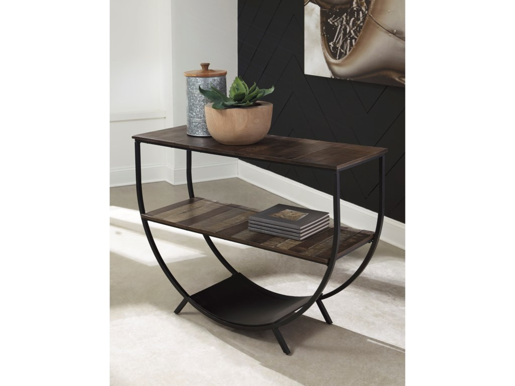 Signature Design by Ashley LamoneyConsole Sofa Table