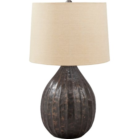 Marloes Copper Finish Metal Table Lamp