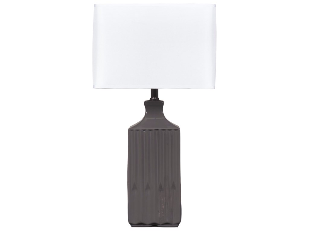 Signature Design by Ashley Lamps - ContemporarySet of 2 Patience Ceramic Table Lamps