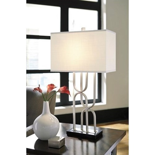 Lamps Contemporary Darielle Table Lamp Louis Mohana Furniture