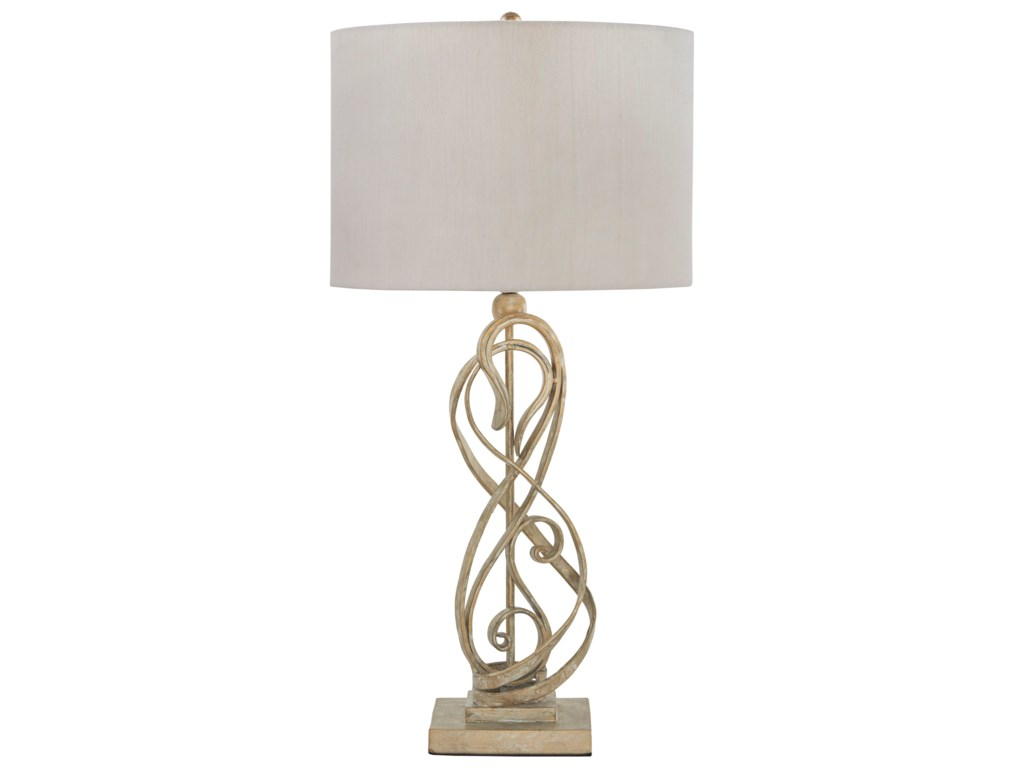 Signature Design by Ashley Lamps - ContemporaryEdric Antique Gold Metal Table Lamp