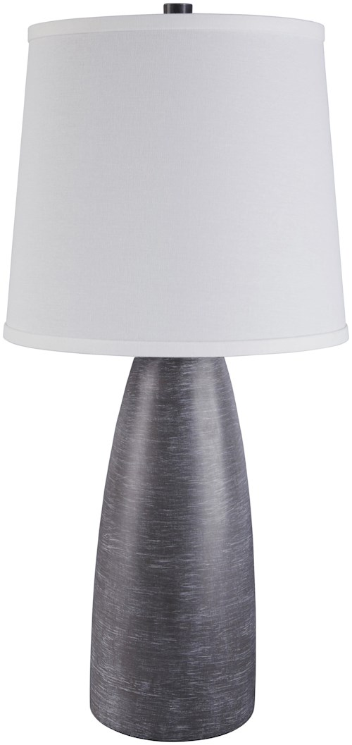 Signature Design by Ashley Lamps - Contemporary Set of 2 Shavontae Poly Table Lamps