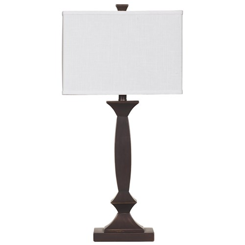 Signature Design by Ashley Lamps - Contemporary Set of 2 Laine Table Lamps
