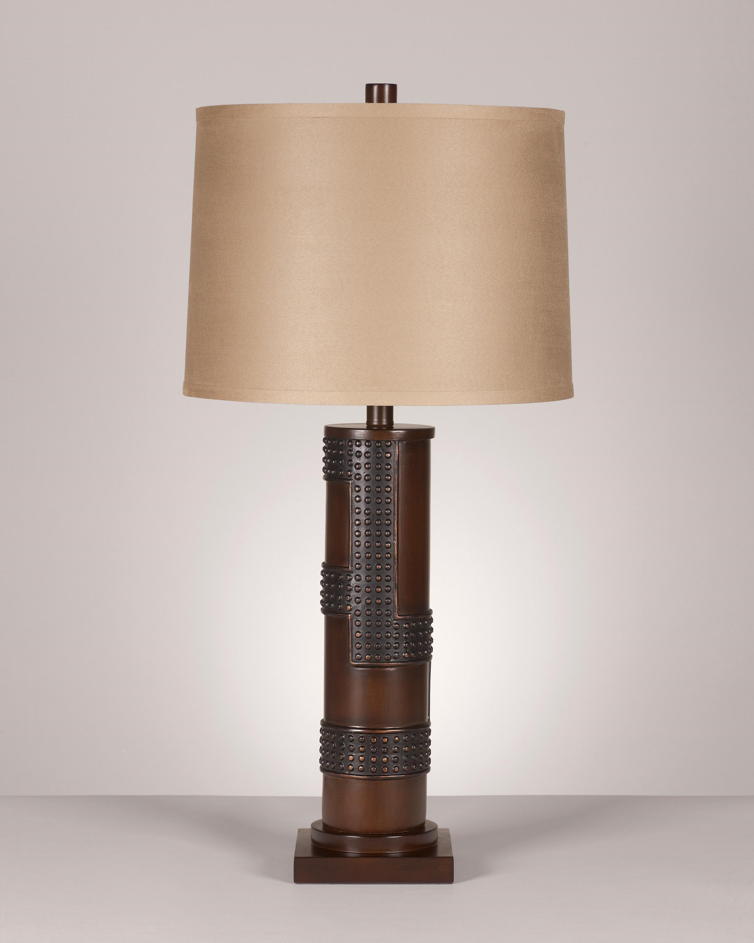 Signature Design By Ashley Lamps   Contemporary Set Of 2 Oriel Poly Table  Lamps