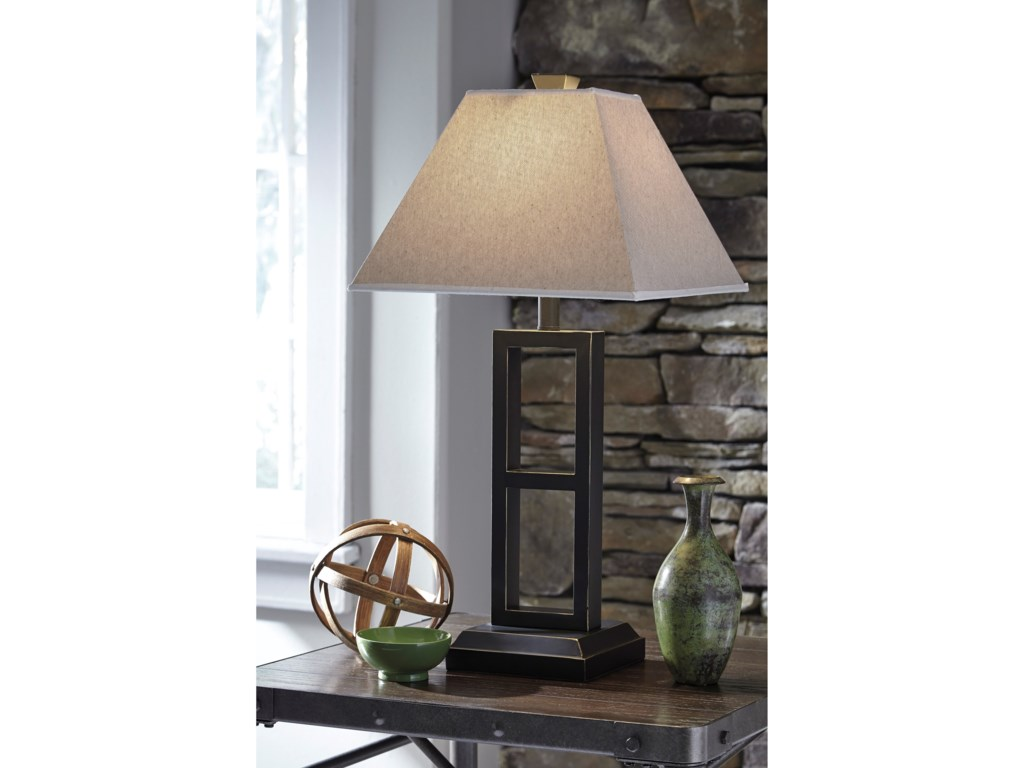 Signature Design by Ashley Lamps - ContemporarySet of 2 Deidra Table Lamps