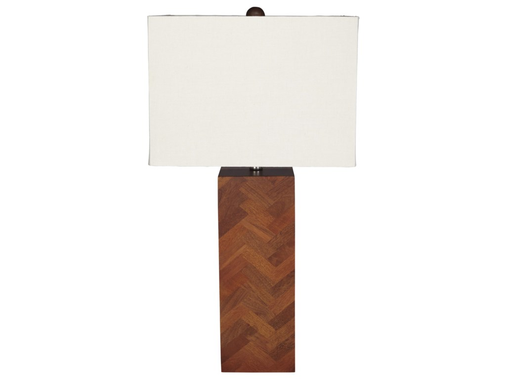 Ashley (Signature Design) Lamps - ContemporaryTabeal Wood Table Lamp