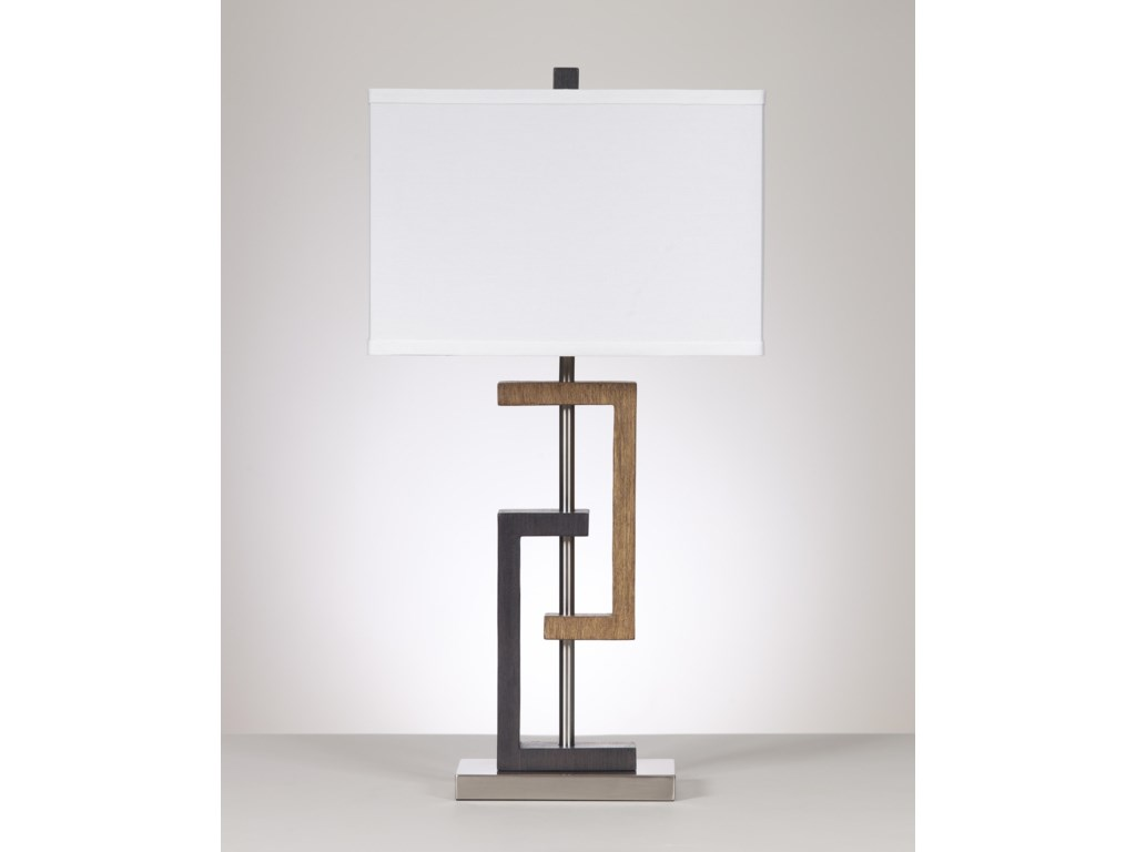 Signature Design by Ashley Lamps - ContemporarySet of 2 Syler Poly Table Lamps
