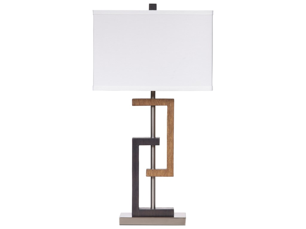 Ashley (Signature Design) Lamps - ContemporarySet of 2 Syler Poly Table Lamps