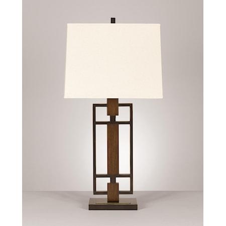 Set of 2 Omaris Metal Table Lamps
