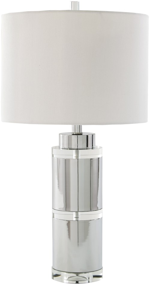 Signature Design by Ashley Lamps - Contemporary Set of 2 Makram Metal Table Lamps