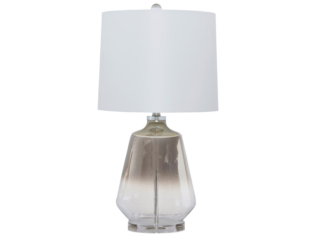 Signature Design by Ashley Lamps - ContemporaryJaslyn Glass Table Lamp