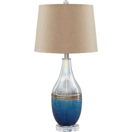 Set of 2 Johanna Glass Table Lamps