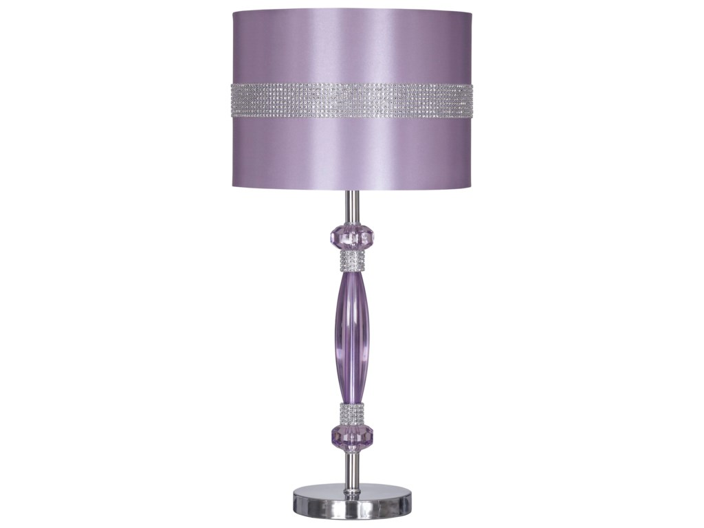 Signature Design by Ashley Lamps - ContemporaryNyssa Metal Table Lamp