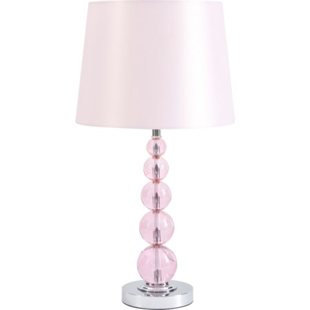 Letty Pink Table Lamp