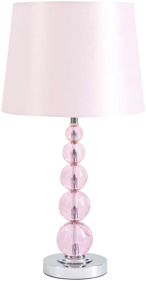 pink lux hume lounge lamp table efr shop