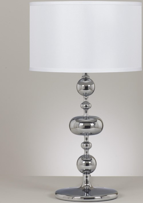 Signature Design by Ashley Lamps - Metro Modern Set of 2 Raschel Metal Table Lamps
