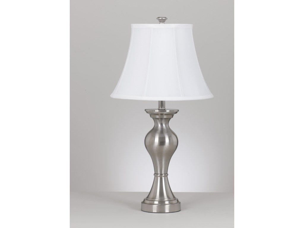 Signature Design by Ashley Lamps - Vintage StyleSet of 2 Rishona Metal Table Lamps