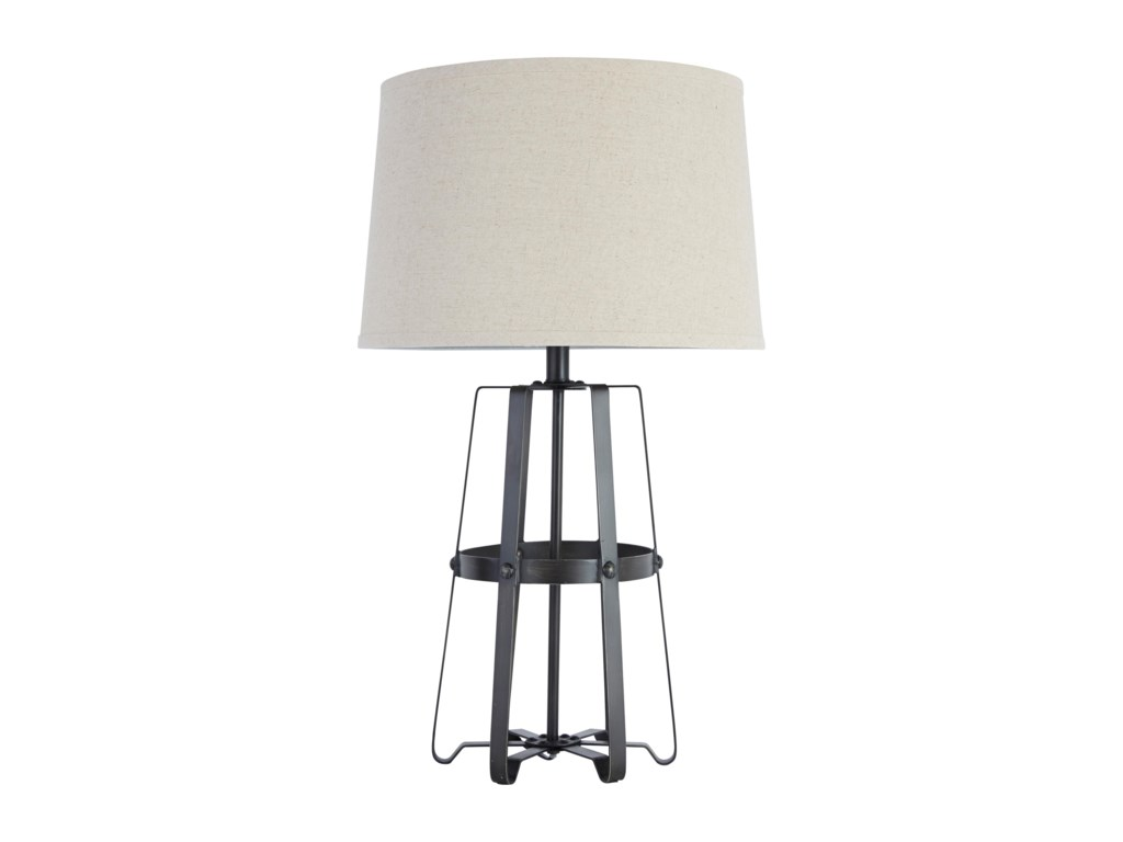 Signature Design by Ashley Lamps - Vintage StyleMetal Table Lamp