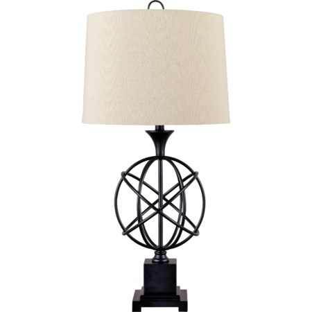 Camren Black Metal Table Lamp