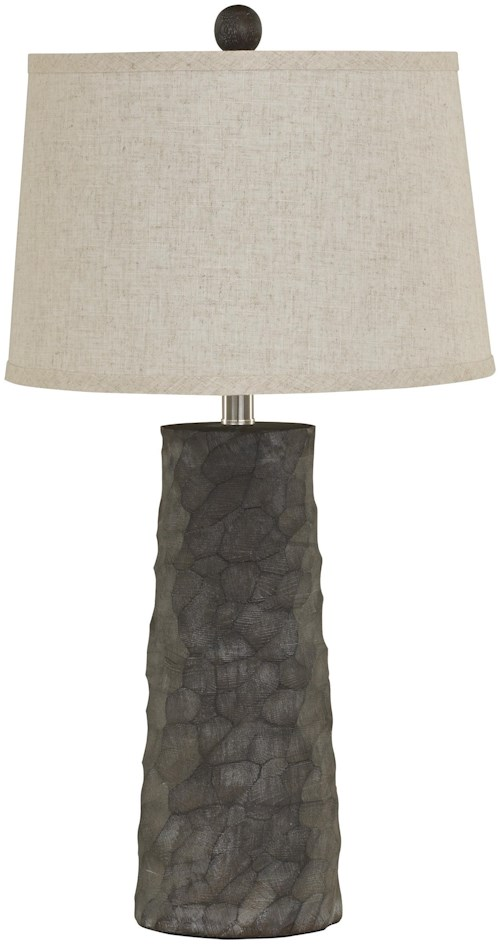 Signature Design by Ashley Lamps - Vintage Style Set of 2 Sinda Poly Table Lamps