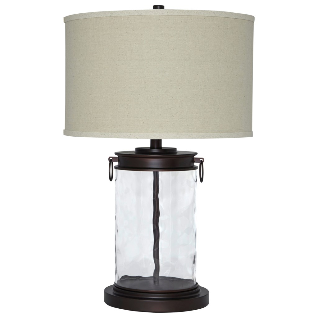 Signature Design by Ashley Lamps Vintage Style Tailynn Clear