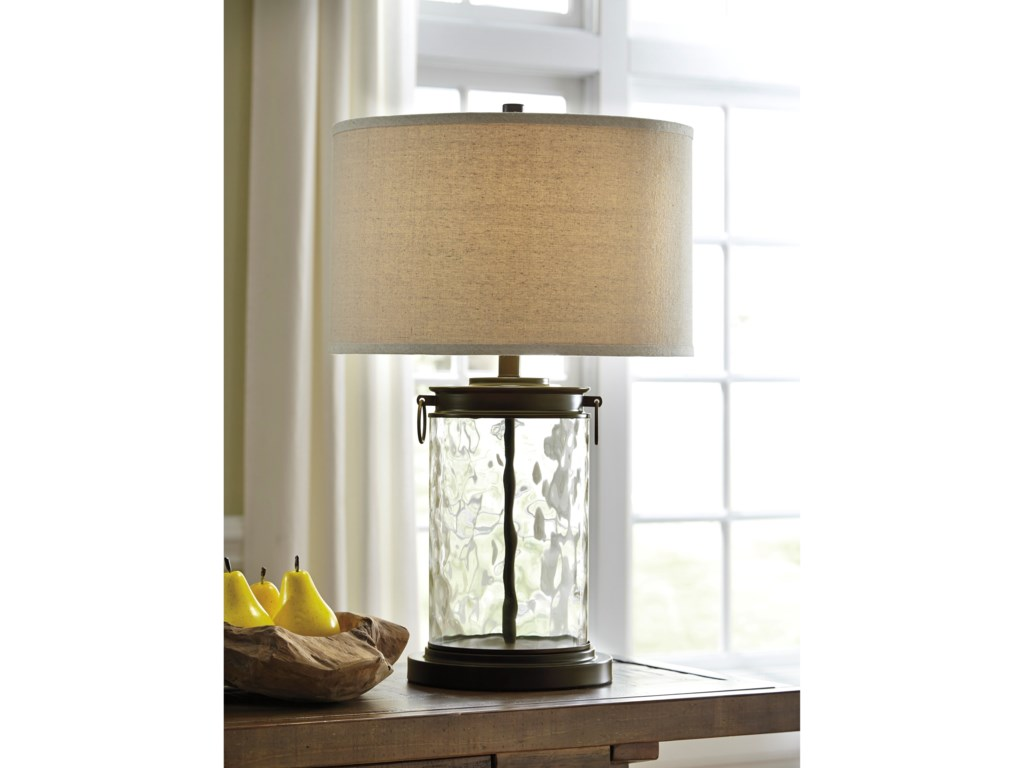 Signature Design By Ashley Lamps Vintage Style L430324 Tailynn