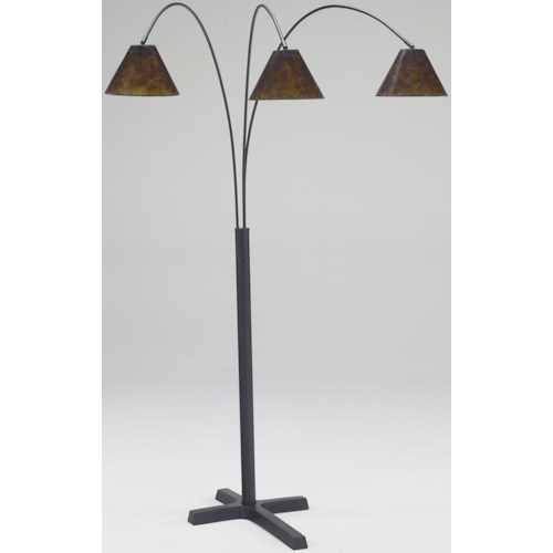 Signature Design By Ashley Lamps Vintage Style Sharde Metal Arc