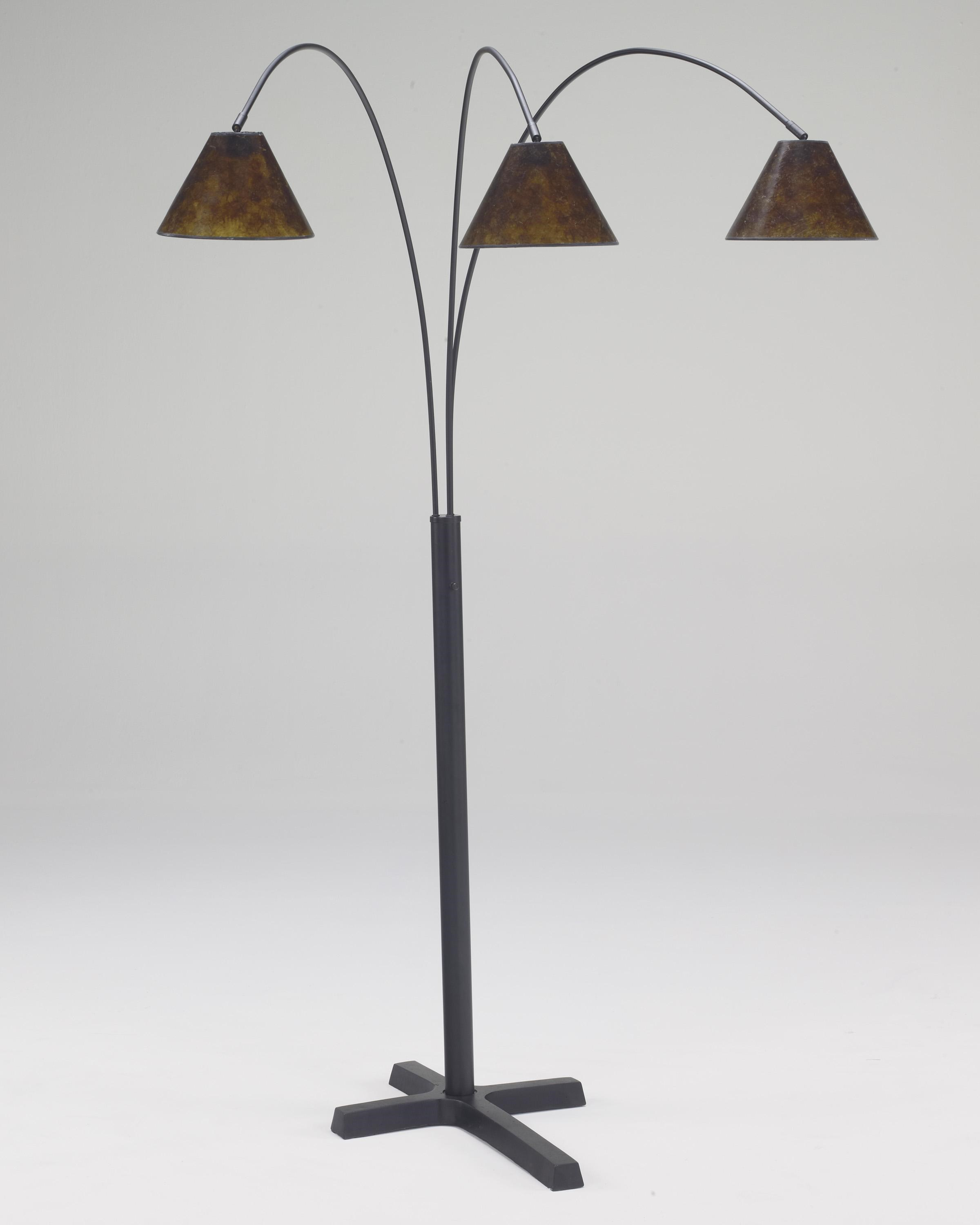 Signature Design By Ashley Lamps   Vintage Style Sharde Metal Arc Lamp
