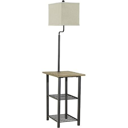 Metal Tray Lamp