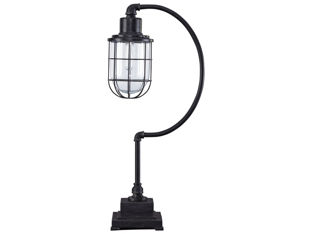 Ashley Signature Design Lamps Vintage Style L734232 Jae Antique