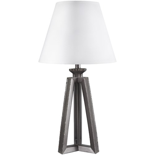 Signature Design by Ashley Lamps - Vintage Style Sidony Poly Table Lamp