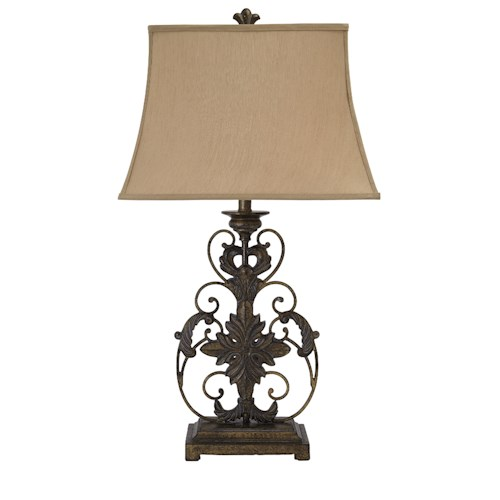 Signature Design by Ashley Lamps - Traditional Classics Metal Table Lamp